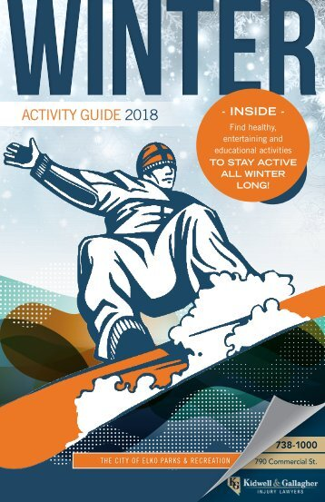 Parks & Recreation Activity Guide Fall/Winter 2018