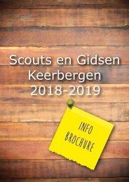 Scouts en Gidsen Keerbergen 2018-2019