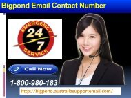 Optimize Bigpond Settings At Ease| Email Contact Number 1-800-980-183