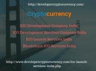 ICO Development Company India - ICO Development Services Company India