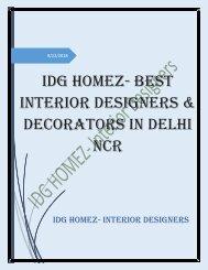 How Commercial Interior Designer Enhances The Charm of Business