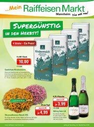 Raiffeisen Mannheim Herbsangebote
