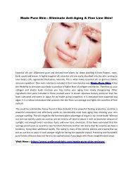 Made Pure Skin : Perfect Formula To Get Beautiful Skin!
