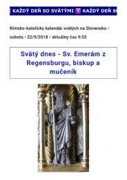 Svätý Emeramus