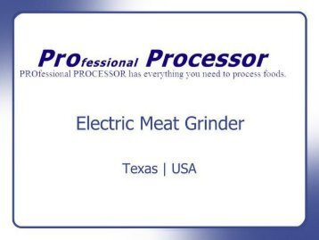 Electric meat grinder on sale | Texas, USA