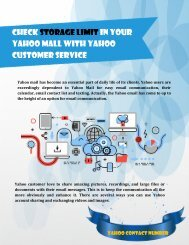 Check Storage Limit in Your Yahoo Mall with Yahoo Customer Service