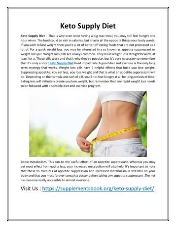 Keto Supply Diet - It make Body Healthy & Physical Health strong