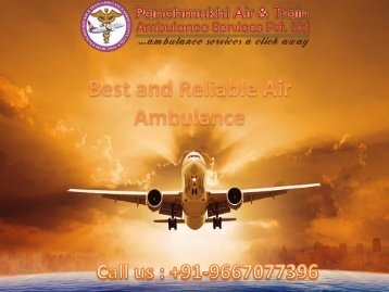 Full Medical Support Air Ambulance Service in Dimapur