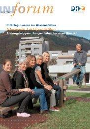 Vom Elektromonteur zum Lehrer - Pädagogische Hochschule Zentralschweiz