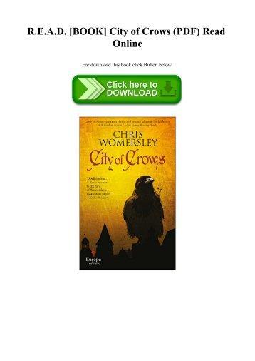R.E.A.D. [BOOK] City of Crows (PDF) Read Online