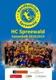 HC Spreewald Saisonheft 2018/2019