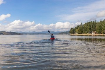 Kayaks, great fun for all ages