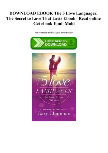 5 love languages book online