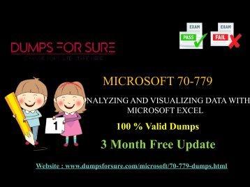 Microsoft 70-779 Dumps