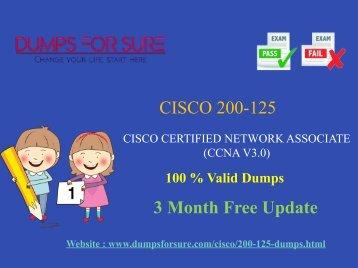 Cisco 200-125 Dumps
