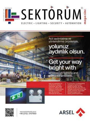 Sektörüm Dergisi Eylül 2018