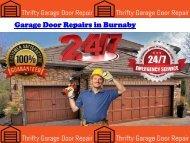 Garage Door Repairs in Burnaby