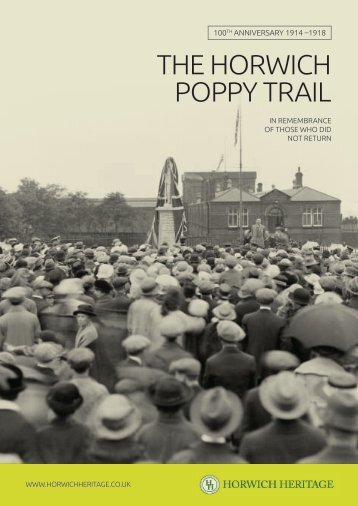Horwich Poppy Trail Book