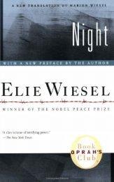 Elie Wiesel - Night FULL TEXT