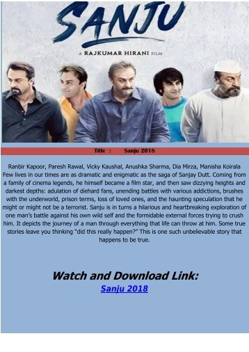 sanju online hindi movie