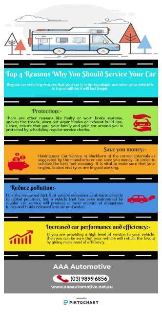 Top 4 Reasons Why You Should Service Your Car