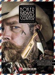 Böker Barber's Corner | Edition 2018 / 2019