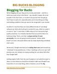 BIG BUCKS BLOGGING - Page 7