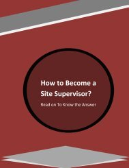 How to Become a Site Supervisor? Read on To Know the Answer