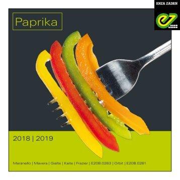 Paprika 2018 | 2019