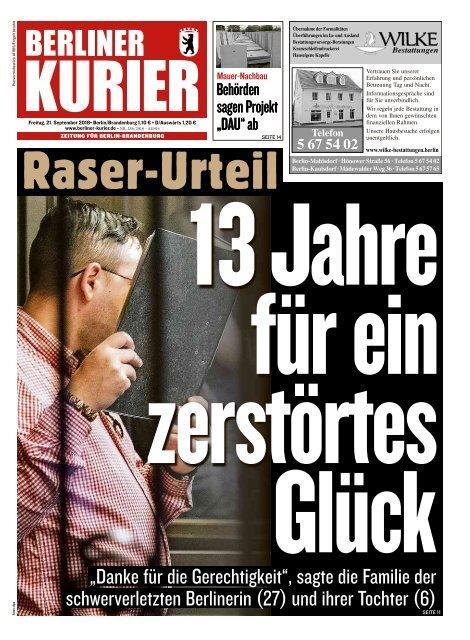 Berliner Kurier 21.09.2018