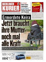 Berliner Kurier 23.09.2018