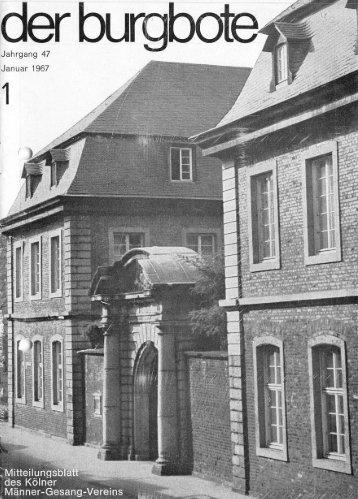 Der Burgbote 1967 (Jahrgang 47)