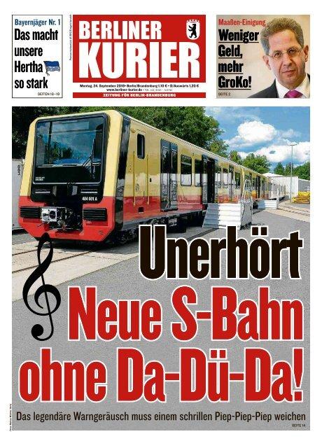 Berliner Kurier 24.09.2018