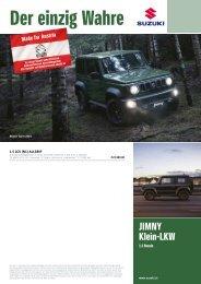 JIMNY LCV Preise, Ausstattung und technische Daten