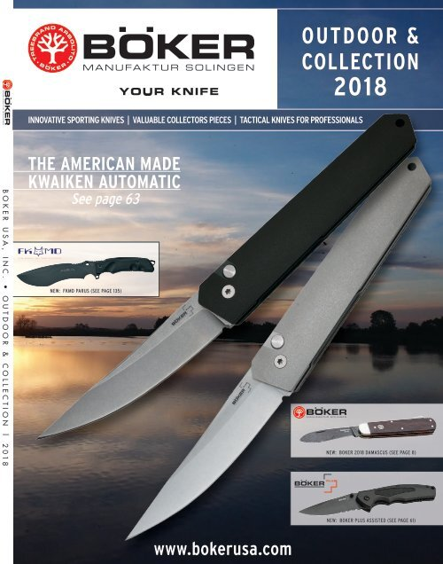Boker Outdoor and Collection | BUSA 2018