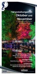 Veranstaltungen im Oktober und November 2018