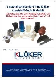 Ersatzteilkatalog Eierverarbeitung (DE) 31.09.18 ohne Preise