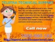 Telstra Technical Support 1-800-980-183| Solve Login Problems