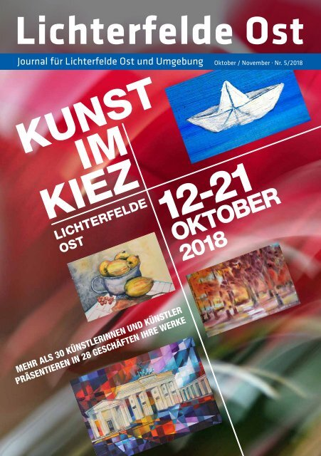 Lichterfelde Ost Journal Okt/Nov 2018