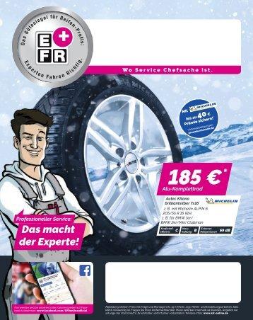 EFR Reifen-Profis | Winter 2018 - 26.09.2018