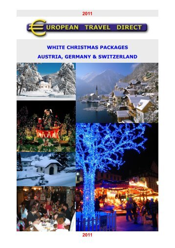 white christmas packages austria, germany & switzerland - OBrochure