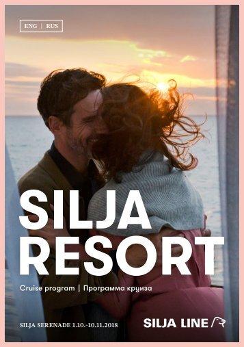 Cruise Program Silja Serenade in English and in Russian 1.10.–10.11.2018