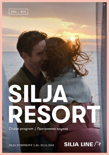 Cruise Program Silja Symphony in English and in Russian 1.10.–30.11.