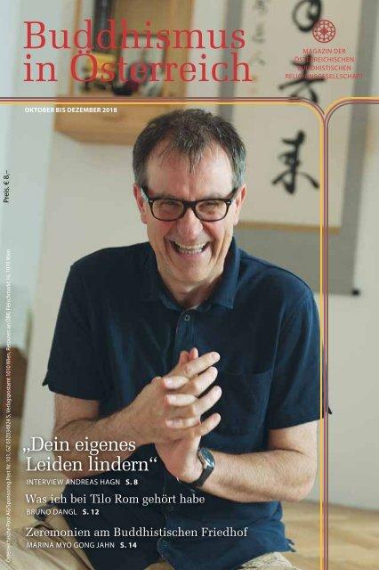 Buddhismus in Österreich - Ausgabe Oktober bis Dezember 2018