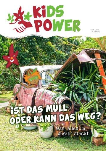 KidsPower 1/2018: Ist das Müll oder kann das weg?
