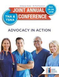 2018 TNA and TSNA Joint Annual Conference
