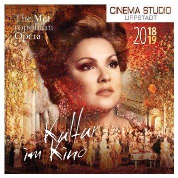 Kulturprogramm Cinema+Studio Lippstadt