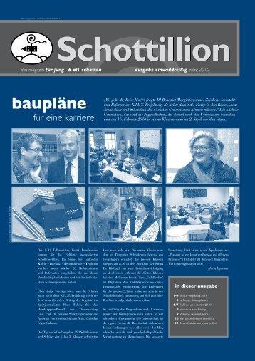 baupläne - Alt-Schotten