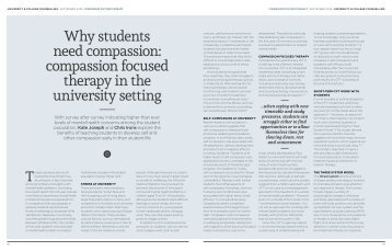Why students need compassion Joseph Irons 2018