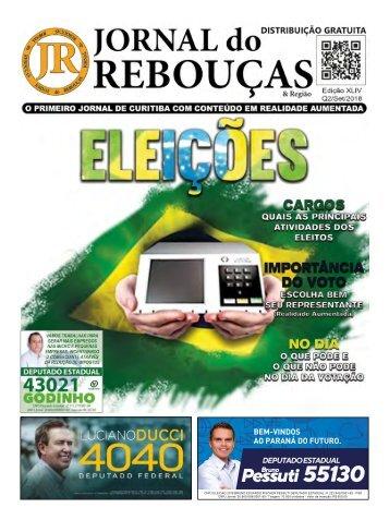 Jornal do Rebouças - 2ª Quinzena de Setembro 2018
